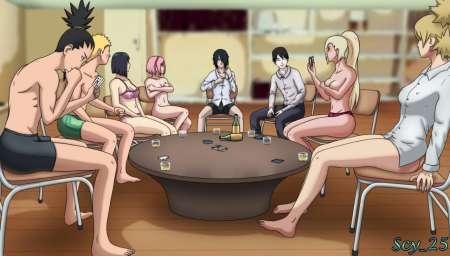 Soirée Strip Poker